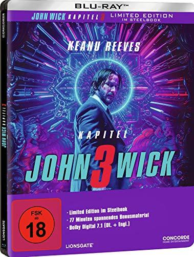 John Wick: Kapitel 3 - Bluray (Limited Steelbook) inkl. Versand (Wenn nur dieser Artikel im Warenkorb liegt!)