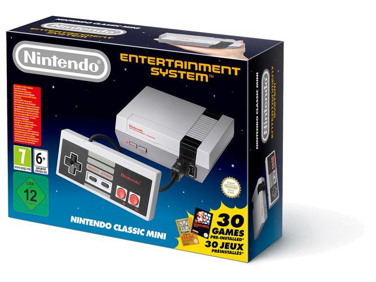[Lidl Onlineshop] Nintendo Spielekonsole Classic Mini, Nintendo Entertainment System, mit 30 NES-Spielen für
