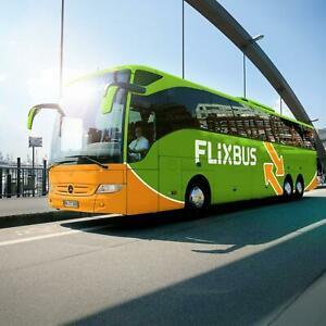 [Animod / ebay.nl] FlixBus Voucher einfache Fahrt in Europa für 9,99€ (1 Person - Reisezeitraum 07.01. - 20.02.2020) -)