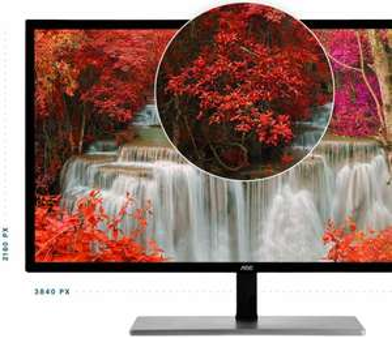 AOC U3277FWQ 32 Zoll Monitor LED 4K UHD Lautsprecher Displayport MVA