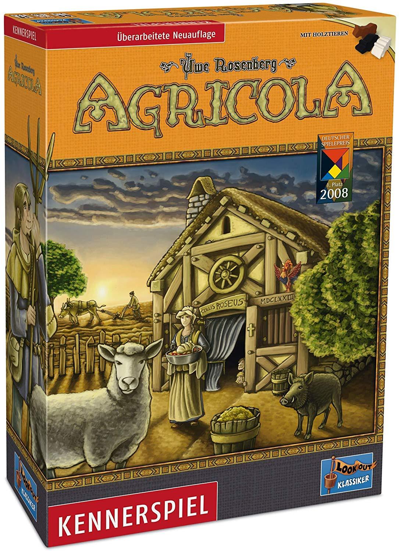 [Amazon Blitzangebot] Agricola, Kennerspiel von Uwe Rosenberg