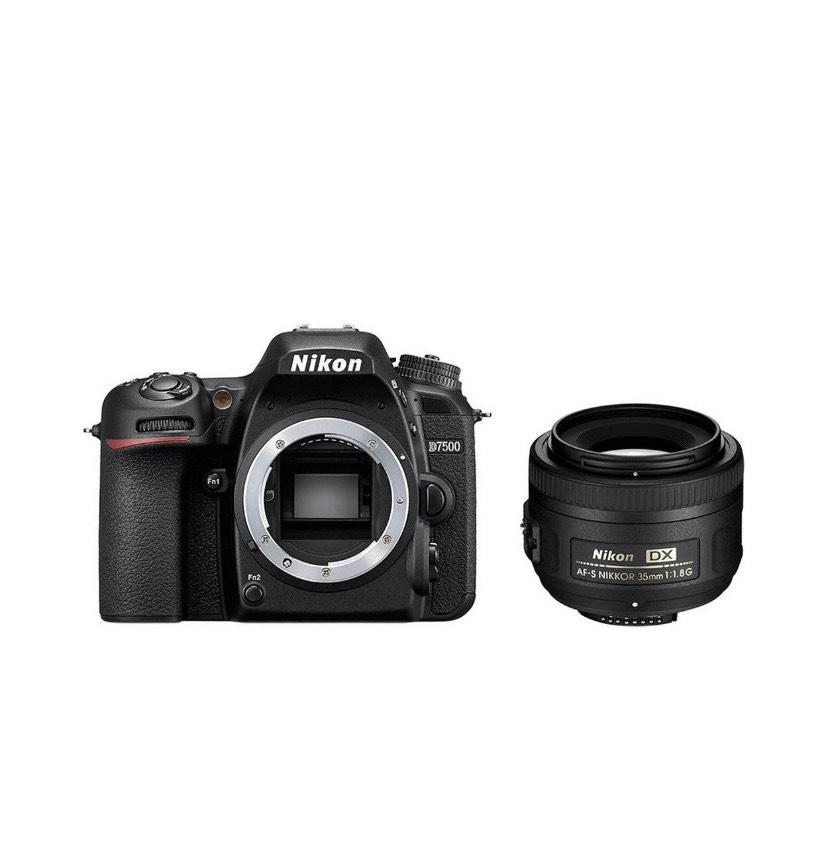 Nikon D7500 + AF-S DX NIKKOR 35 mm 1:1,8G / Nikon.de / nur am 29.11.19
