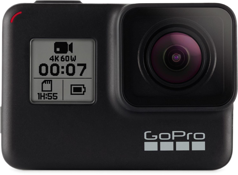 GoPro Hero 7 Black 4K60-Action Cam wasserdicht Sprachsteuerung Touchscreen für 265,49€ inkl. Versandkosten - [Cyberport ebay]