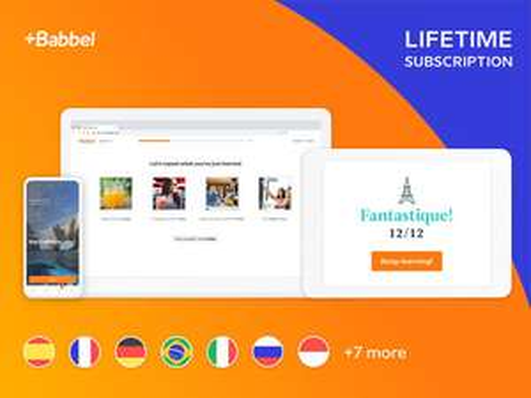 Lebenslang Babbel (alle Sprachen) bei Stack Social