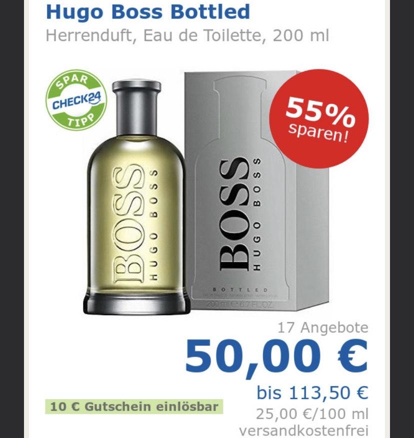Hugo Boss Bottled 200ml EDT - Personalisiert