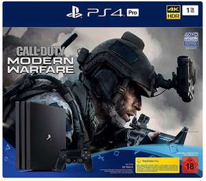 Sony PlayStation 4 (PS4) Pro 1TB + Call of Duty: Modern Warfare