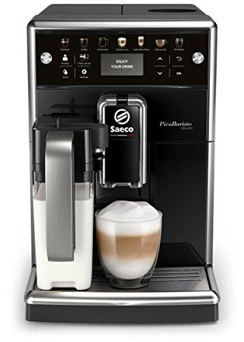 Saeco SM5570/10 PicoBaristo Deluxe Kaffeevollautomat schwarz (Amazon, MM)