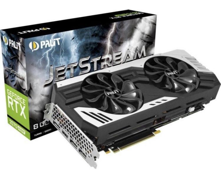 Palit GeForce RTX 2070 SUPER Jetstream 8 GB OC