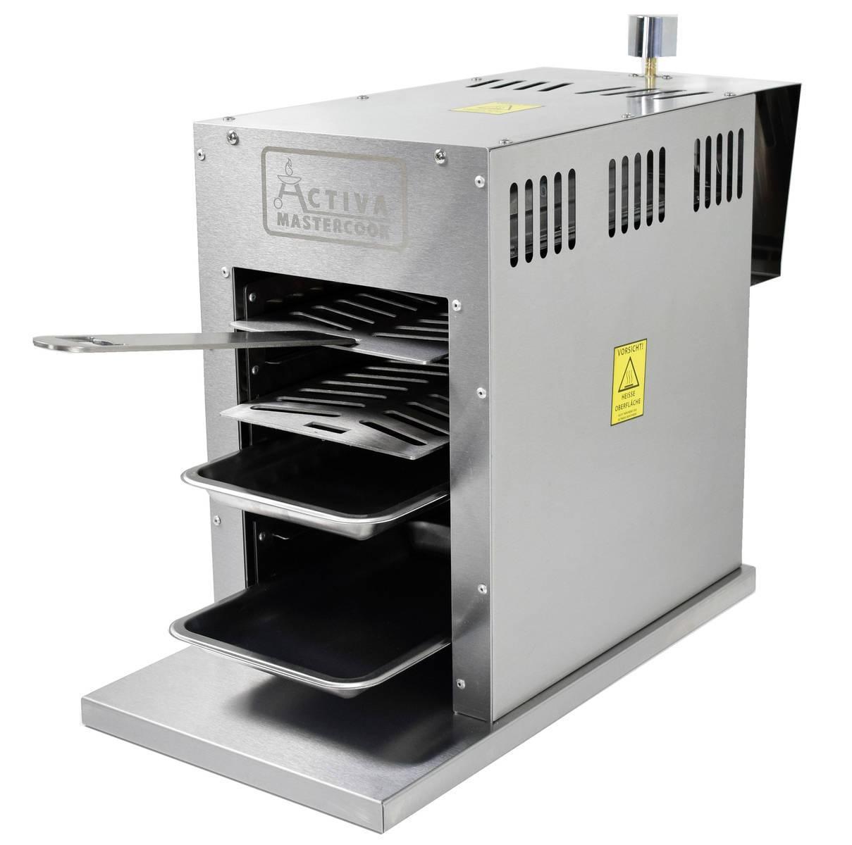Oberhitzegrill mit 3.5 kW (800 Grad)