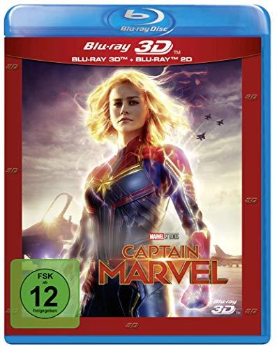 Captain Marvel 3D (Blu-ray 3D + Blu-ray) für 14,39€ (Müller)