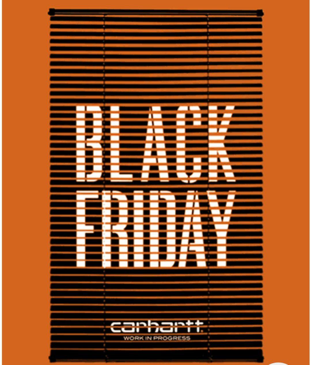 Carhartt WIP Black Friday heute