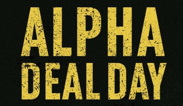Alpha Industries: Alpha Day Deal - inkl. 10% Rabattcode