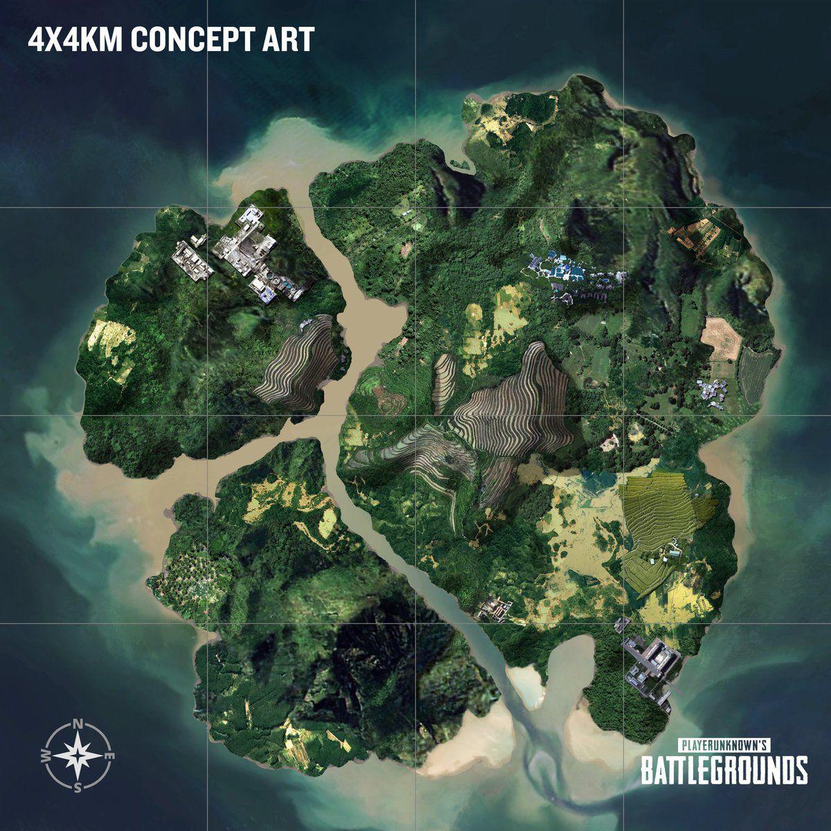 Player Unknowns Battlegrounds Savage Map (4x4KM) Betazugang - Steamcode