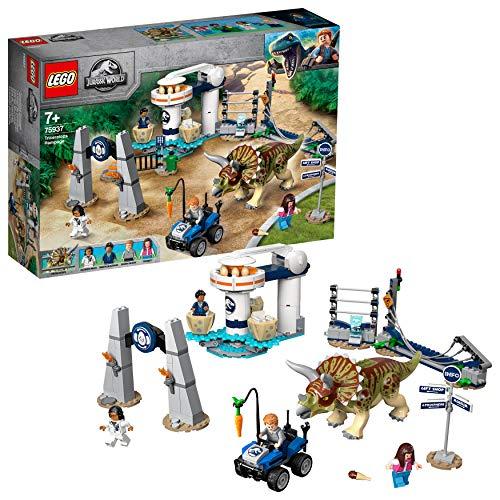 Amazon - LEGO 75937 Jurassic World Triceratops Randale Bauset