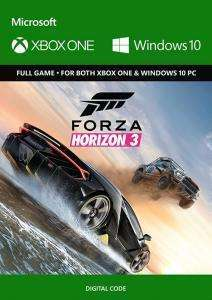 Forza Horizon 3 (Xbox One/PC Digital Code Play Anywhere) für 9,39€ (CDkeys)
