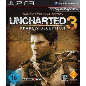 Uncharted 3: Drake's Deception - Game of the Year Edition (Playstation 3)  für 19,99€