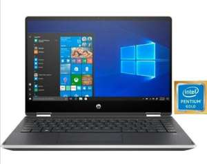 HP Pavilion x360 14, Notebook/Convertible, 14 Zoll, Pentium-Gold, UHD-Graphics 610, 8GB RAM, 256GB SSD