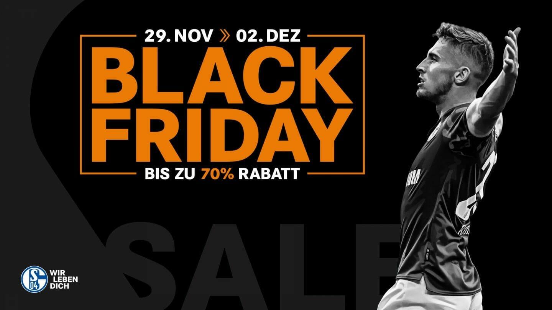 Rabatte bis zu 70 Prozent - Sonntag Versandkostenfrei - Black Friday auf Schalke