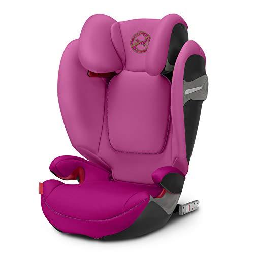 Cybex Gold Solution S-Fix in fancy pink (2019er Modell) Kinder-Autositz mit Isofix