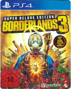 Borderlands 3 PS4 Super Deluxe Edition (Season Pass inkl)