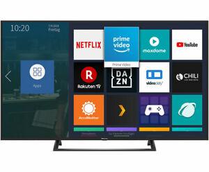 Hisense H55BE7200 138 cm (55 Zoll) Fernseher (4K Ultra HD, HDR, Triple Tuner, Smart-TV, Mittelfuß) [Energieklasse A]