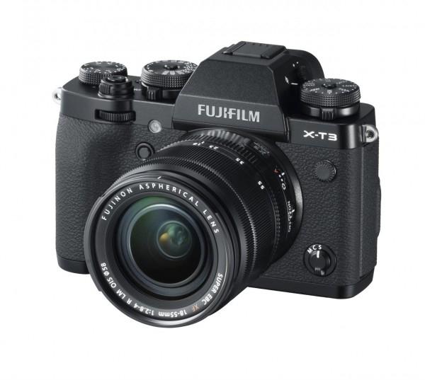 Fujifilm X-T3 Kit 18-55mm schwarz/silber für 1361,15€ inkl. 100€ Cashback