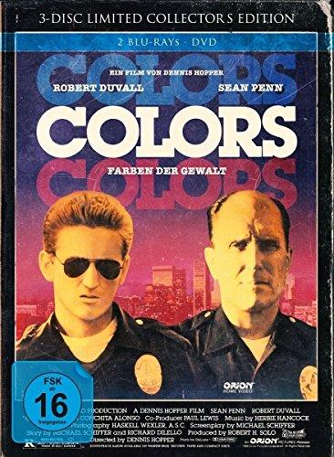 Colors - Farben der Gewalt Limited Mediabook Edition (Cover B & A 2x Blu-ray + DVD) für je 7,99€ (Amazon Prime & Müller)