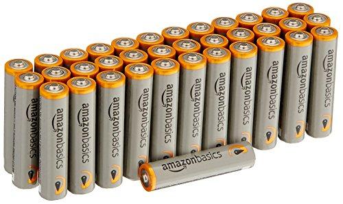 36x AmazonBasics Performance Batterien Alkali, AAA [Amazon Prime]