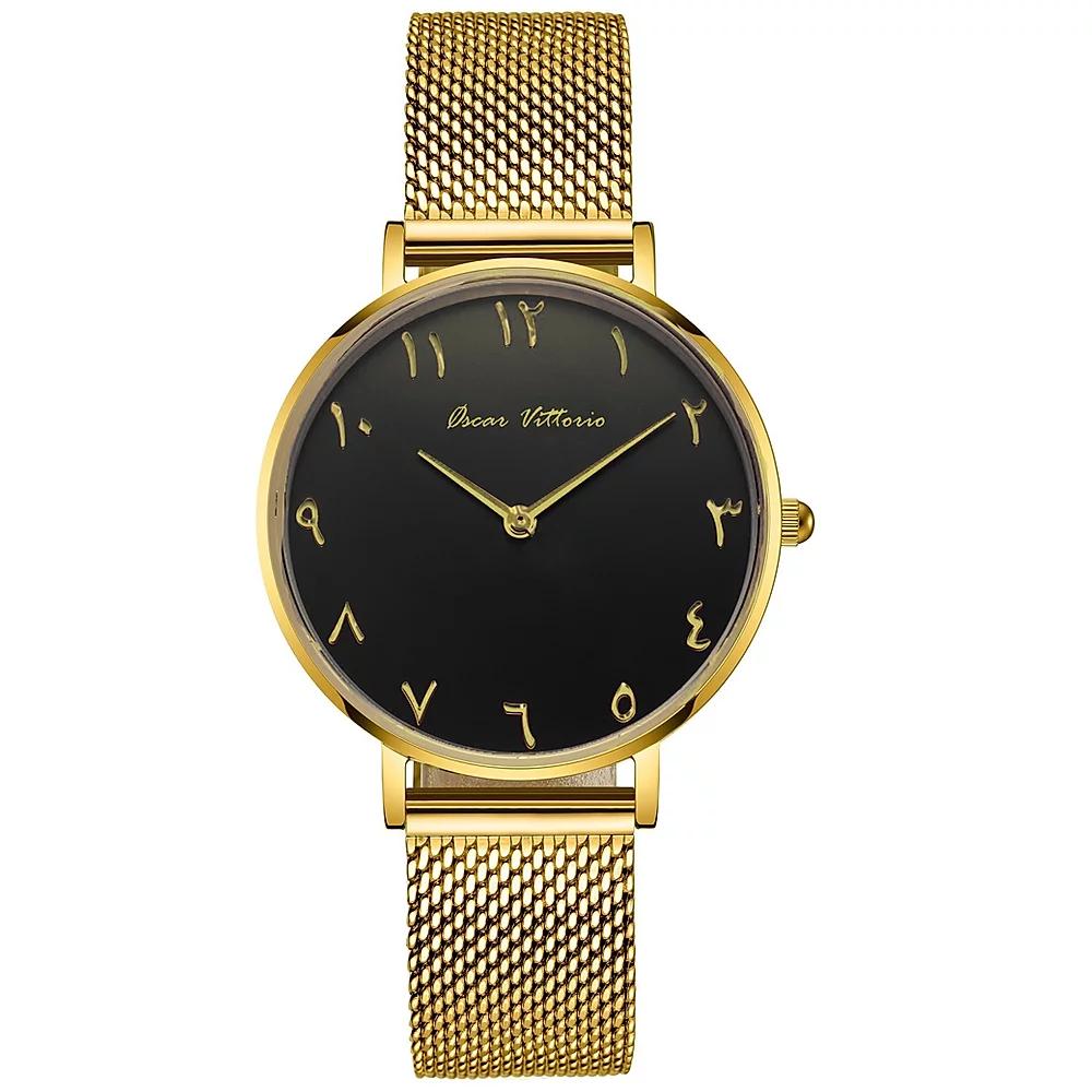 Black Friday Levante Nero Gold Mesh Uhr für 54,50 €