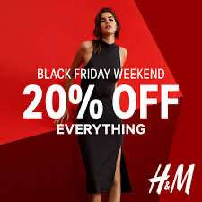 H&M 20% auf alles