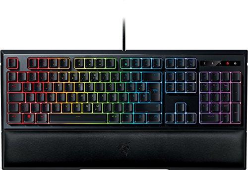 Razer Ornata Chroma Gaming-Tastatur mit Mecha-Membran Tasten, halbhohen Keycaps & Chroma Beleuchtung (QWERTZ) für 62€ (Amazon & Media Markt)