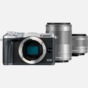 Canon Store Black Friday - M6 Silber Kit + EF-M 15-45mm + EF-M 55-200mm