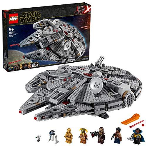 LEGO 75257 Star Wars Millennium Falcon, Bauset,