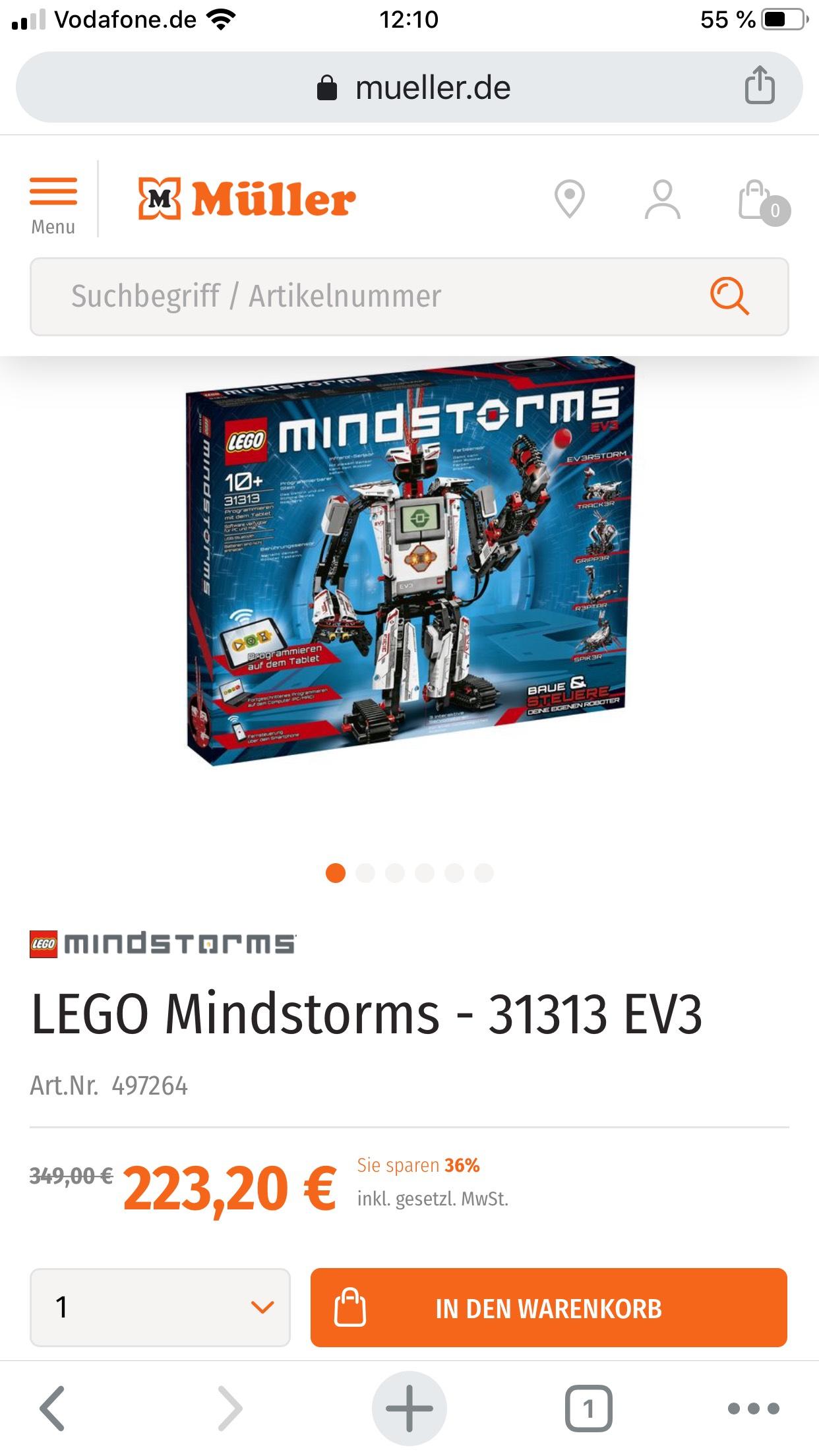 Lego 31313 auf Müller