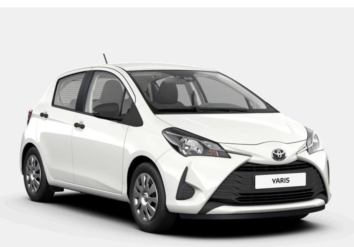 [Privatleasing] Toyota Yaris Comfort (111 PS) für 89€ / Monat, LF 0,53, GF 0,78, 24 Monate, 10.000km p.a., konfigurierbar