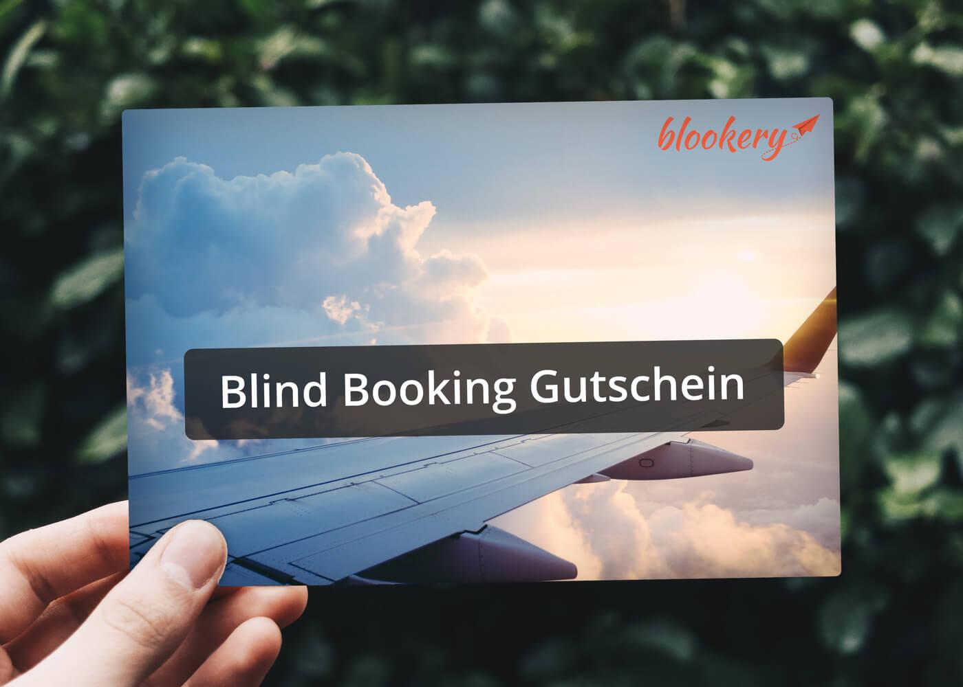 50 € Blind Booking Gutschein kaufen und zusätzlich einen 30 € Gutschein geschenkt bekommen.