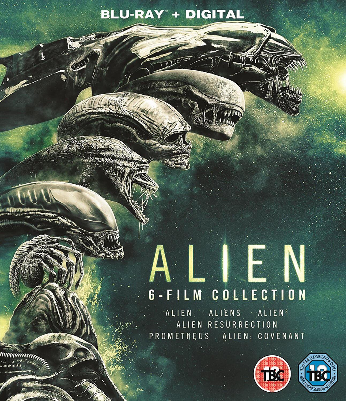 Alien 1-6 Collection (Blu-ray) für 12,87€ inkl. Versand (Zavvi UK)