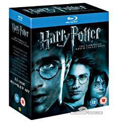 [Online] Harry Potter alle 8 Filme (11 Blu-Rays) inkl. Deutscher Tonspur  (außer Teil 7 Part 1 und 2)@ Play.com