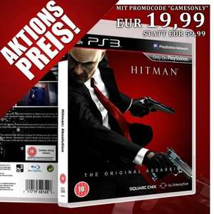 PS3 HITMAN ABSOLUTION [uncut Edition] nur EURO 25,98 (inkl. Versand)