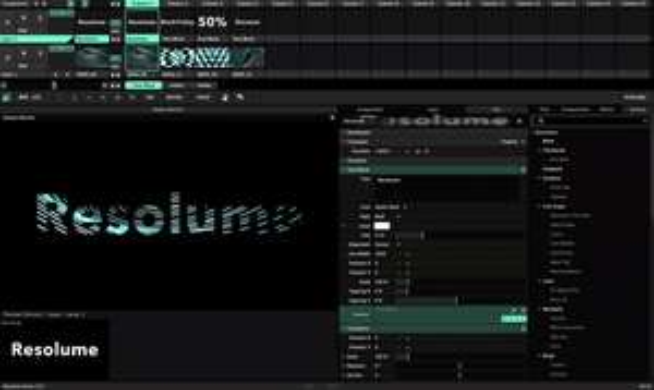 Beste VJ-/Live-Visuals-Software 50%: z.B. Resolume Avenue 7