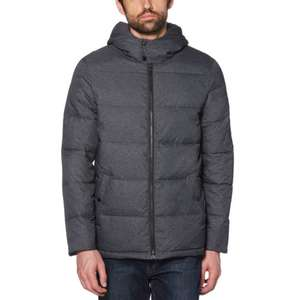 Black Friday bei q-brands.de -50% Rabatt auf Original Penguin z.B. Heathered Puffer Jacket Dark Charcoal