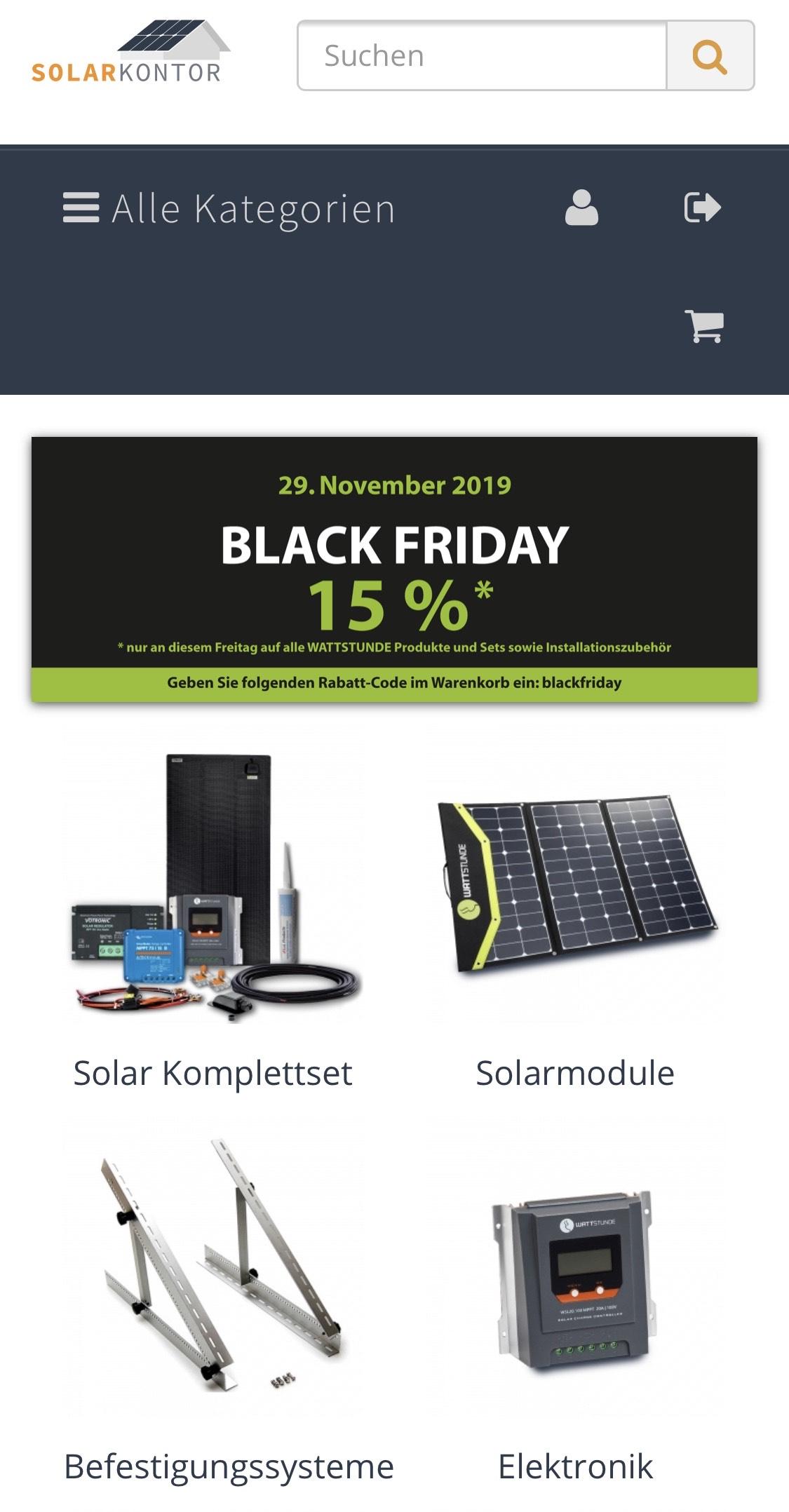 Solarkontor - Solarzubehör u.a. Wattstunde, Goalzero