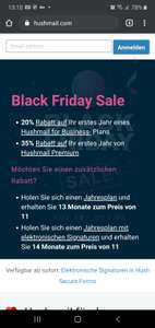 Hushmail - Secure Email Service Blackfriday Discount