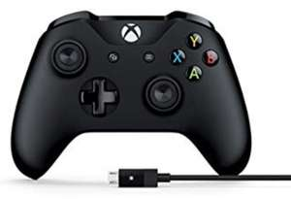MICROSOFT Xbox One Controller + Cable for Windows für 34,30€ inkl. Versandkosten