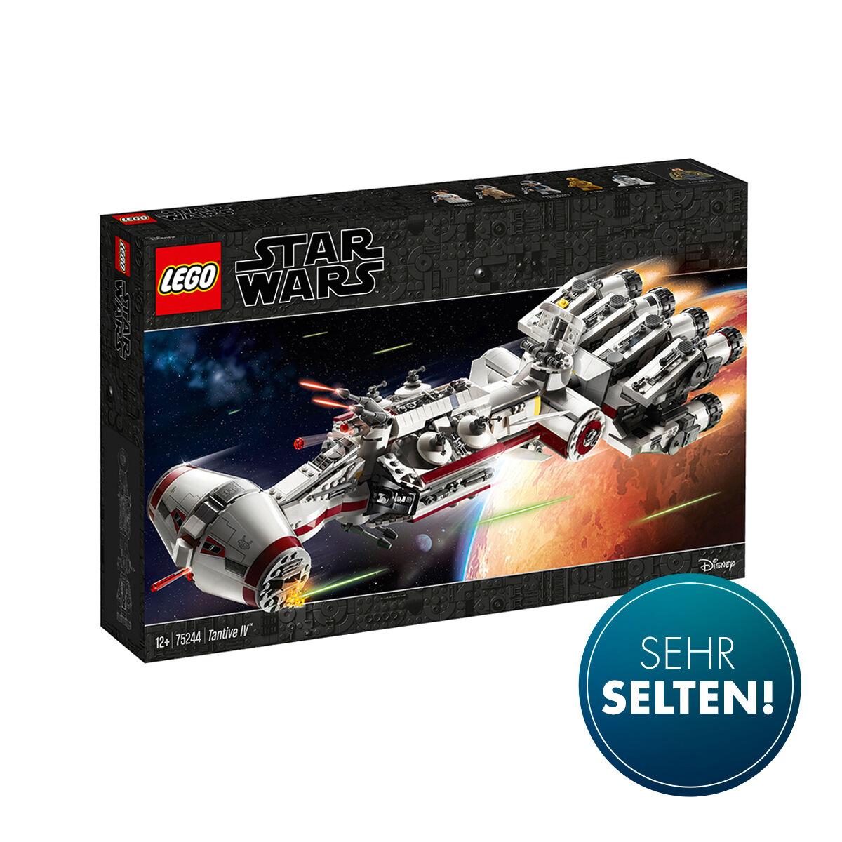 Star Wars™ 75244 Tantive IV - für 169,99 bzw. 155,71 mit Shoop sowie 75192 Millenium Falcon für 637,49 bzw. 583,92