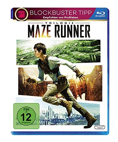 [Amazon Prime] Blu ray - Maze Runner Trilogie