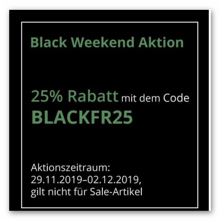 Black Friday 25% Rabatt bei teppichmax.de
