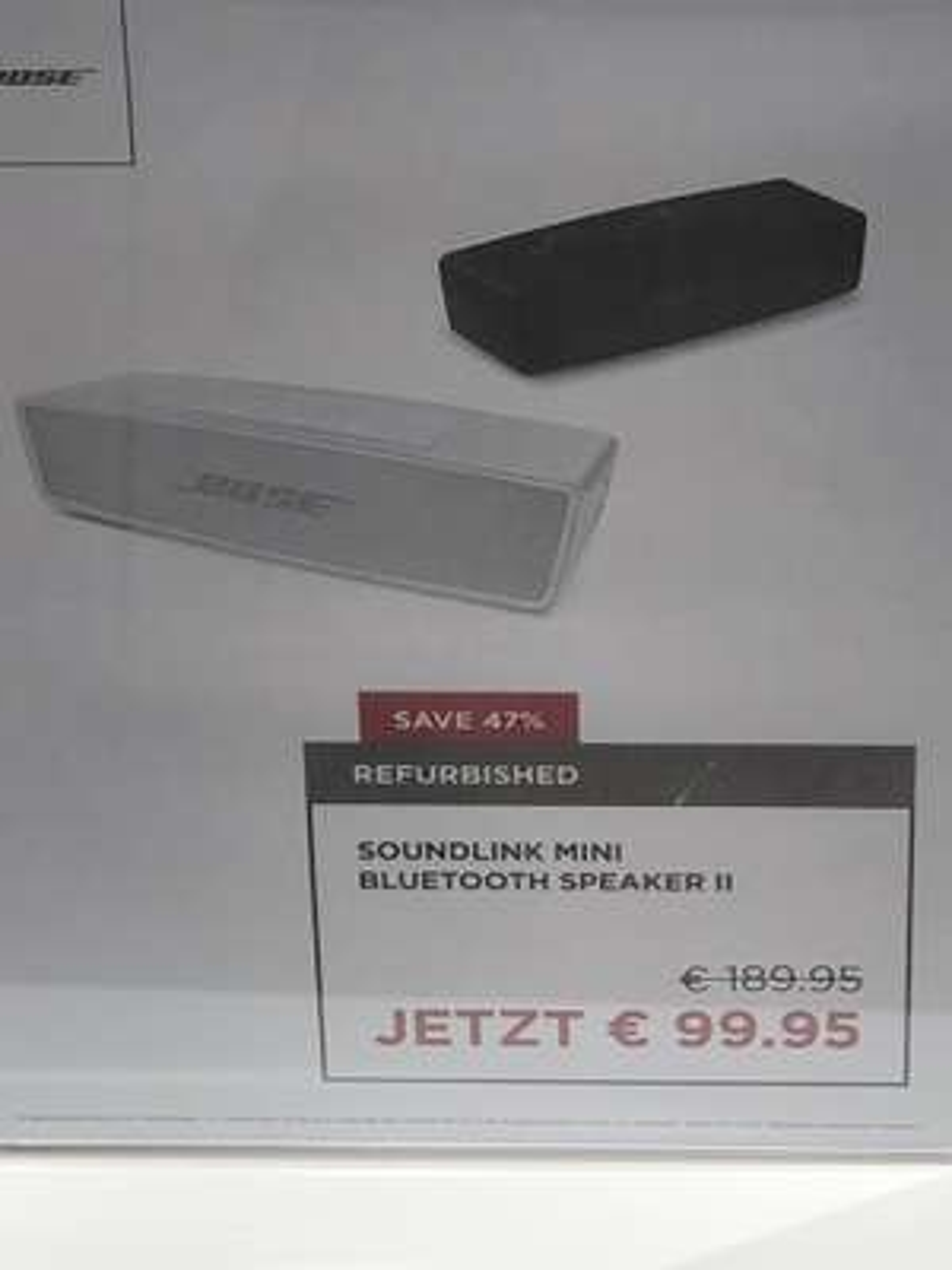 [Bose Store HH] Bose Soundlink Mini Refub.