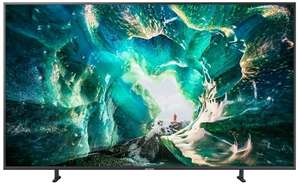 "Samsung UE82RU8009 - 82"" 4k UHD Smart TV (VA, Edge LED, 120 Hz, Dolby Digital Plus, Tizen, Sprachassistent) + Samsung Galaxy A80 Smartphone"
