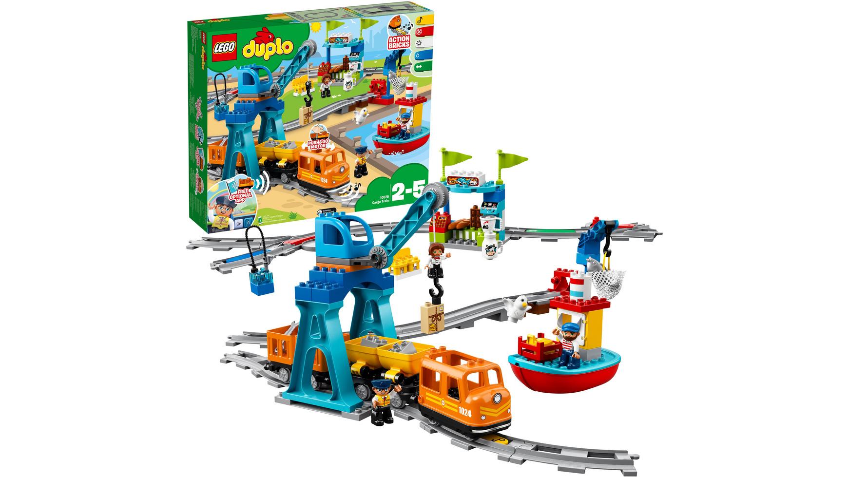 [Müller Filialabholung] LEGO Duplo 10875 Güterzug